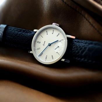 Stowa Antea KS Silver NYC Limited Edition - Wristwatches
