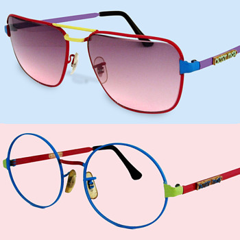 #43 ~ Two Pair 1960's Deadstock Peter Max Sunglasses - Accessories