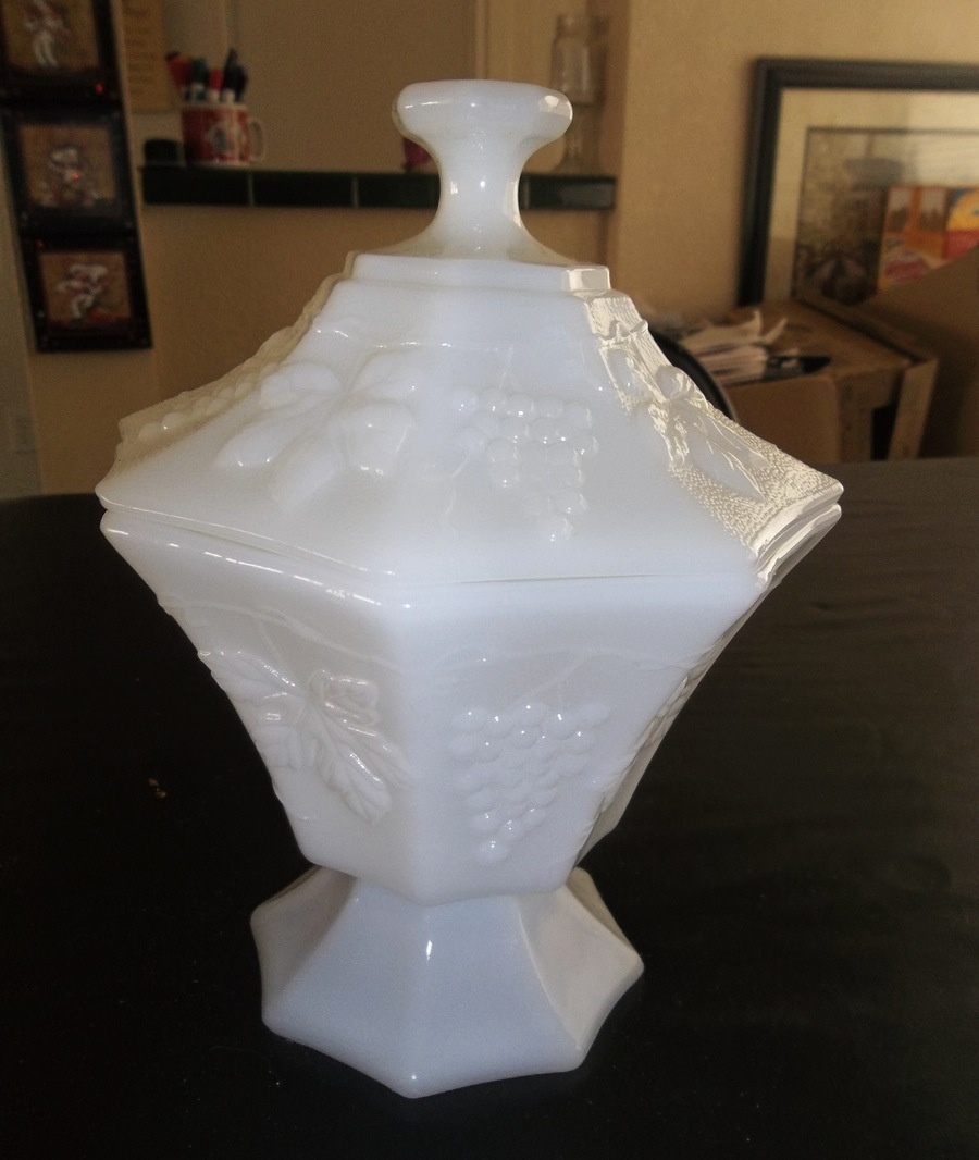 Milk Glass Candy Dish?   Collectors Weekly