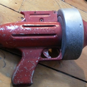 1950s Flash Gordon air ray gun - Toys