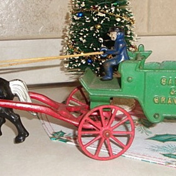 Cast Iron Wagon Toy - Model Cars