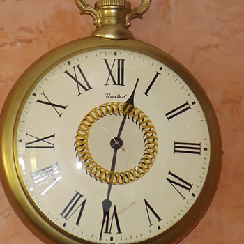 New Wall Clock That Looks Like A Pocket Watch &MG21
