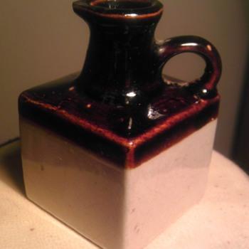 square mini jug - Pottery