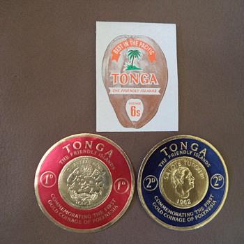Postage Stamps of Tonga, 1960s