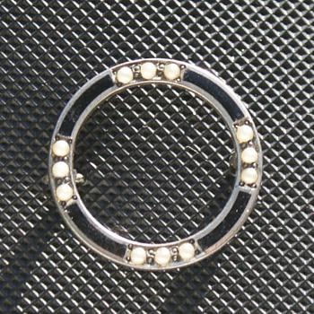Sterling Enamel pin