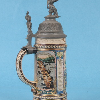 WW1 Regimental Stein