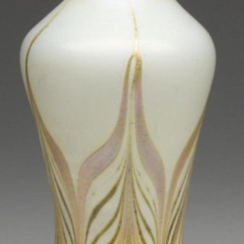 Trevaise Vase c. 1907 - Art Glass