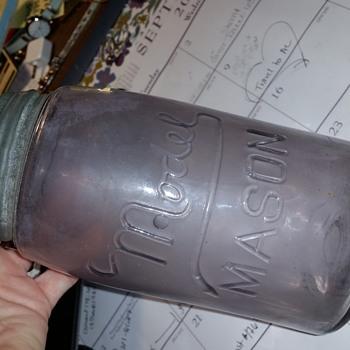 Model Mason Jar