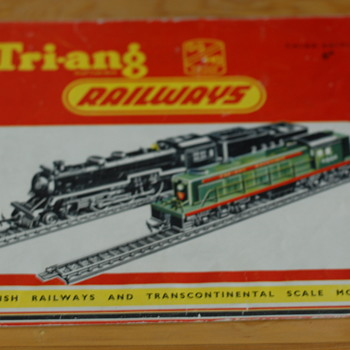 Tri-ang trains - Model Trains