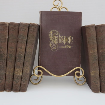 Shakspere, The Pictorial Edition Vol. 1-8 - Books