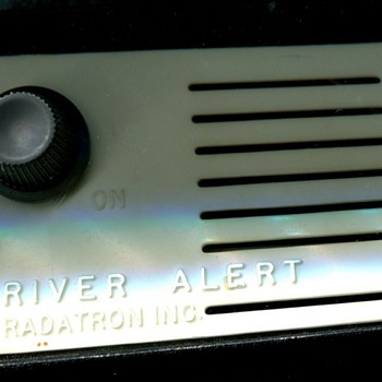 Ancient Radar Detector - Electronics