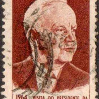"Brazil - ""Heinrich Lubke"" Postage Stamp - Stamps"