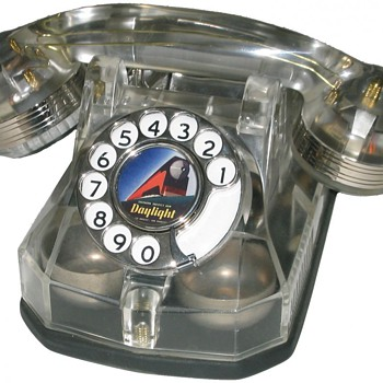 Clear Automatic Electric AE40 telephone