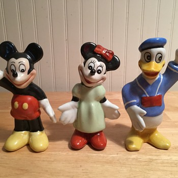 """Occupied Japan"" Disney Figures"