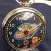 "Double Animated ""Space"" Pocket Watch"