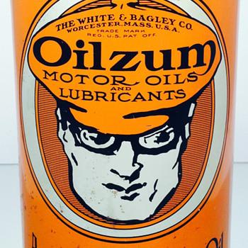 Oilzum - 1 US Quart - Oil Can - Petroliana