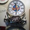 Schlitz clock