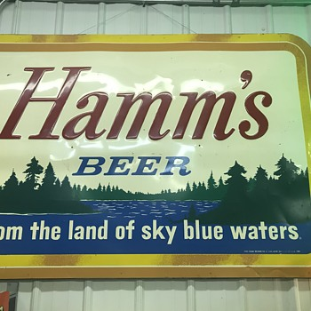 Hamm's Beer Sign  - Breweriana