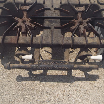 Cleveland Lock Works Gas Cast Iron Camping Stove