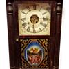 Seth Thomas Half Column 1 Day Clock (Manufactured ?)