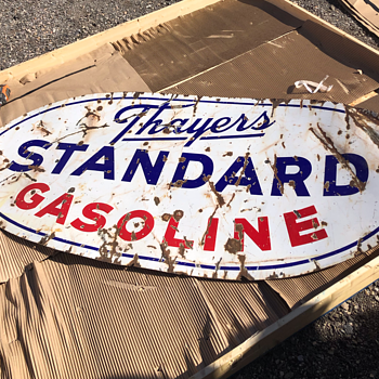 Thayers Standard Gasoline - Signs