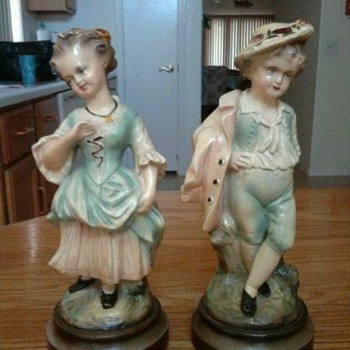 Mystery Statues - Pottery