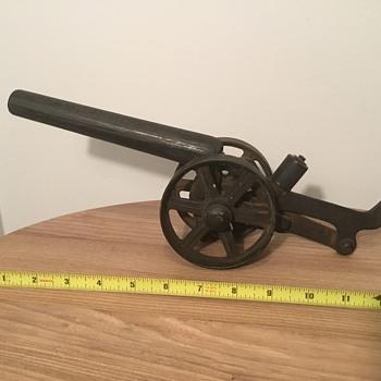 Antique / Vintage Toy Cannon  - Toys