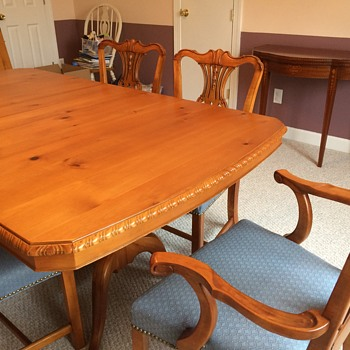 Amazing mid-century dining table and buffet