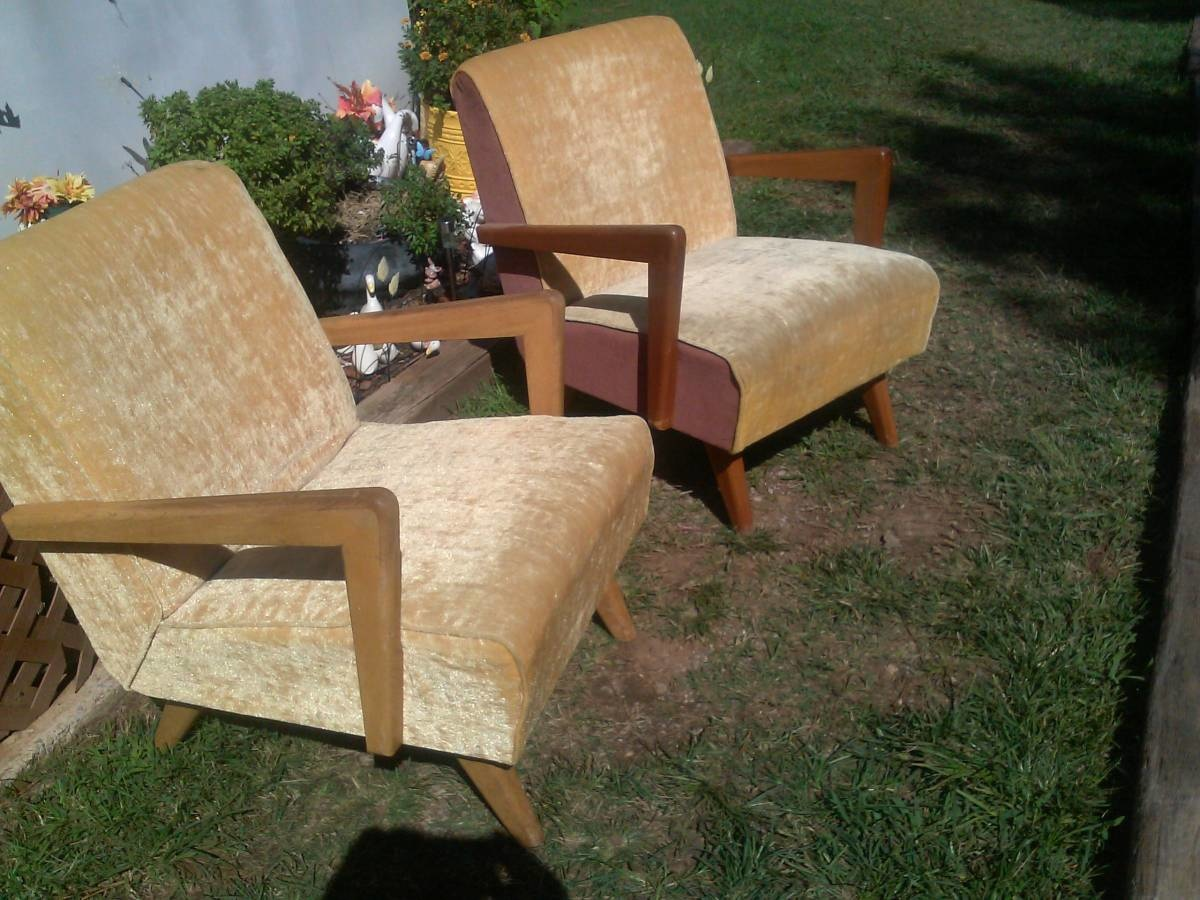 & Pair of Paoli Chair Co. Platform Rockers | Collectors Weekly