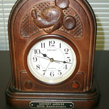 60th Anniversary Mickey Mouse Alarm Clock
