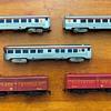 "1956 HObbyline train set #431 ""The Silver Meteor""."