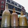 north east  salt glazed  porters  pottery stephen green lambeth london 1840s = 1860 year  diamonds