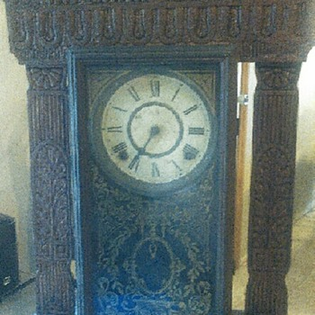 Old Clock. E Ingraham  - Clocks