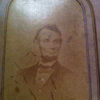 Photograph of Abraham Lincoln  - Photographs