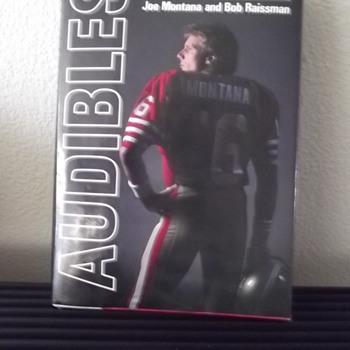 Audibles My Life in Football by Joe Montana and Bob Raissman Book