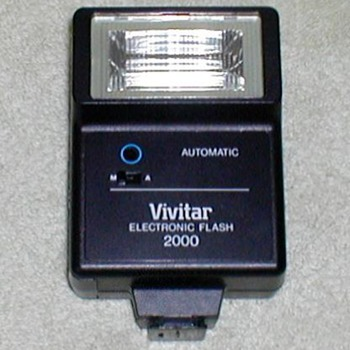 Vivitar 2000 Electronic Flash Unit