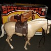 """Marx Best Of The West Pancho Pony Johnny West Horse For 9"""" Figures"""