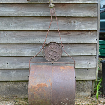 Antique cast iron garden roller - Tools and Hardware
