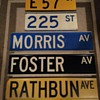 """""""Color-coded"""" street signs from New York City"""