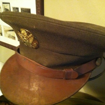 WWII US Army enlisted man's hat. - Military and Wartime