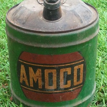 Old Amoco Gas Can - Petroliana