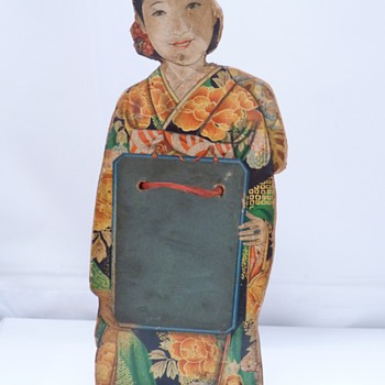 Japanese cut out figure - Asian