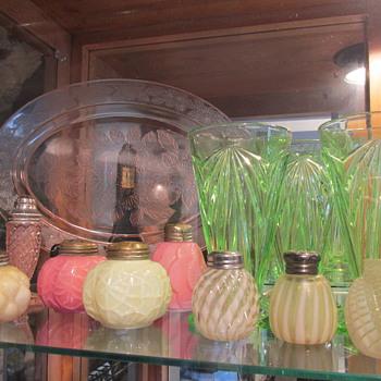 Rare Pink Dogwood Platter - Glassware