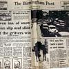 1969-snow havoc in the uk-'birmingham post'-feb 8th/21st.
