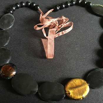 Vintage jet necklace? - Costume Jewelry