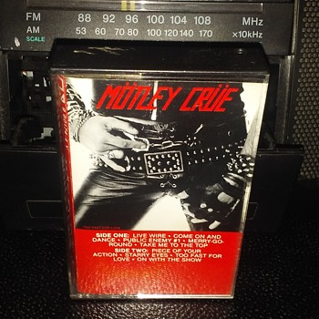 Motley Crue....On Cassette Tape Format - Records