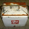 1950's ? 7up Ice Chest and other Vintage Ice Chest