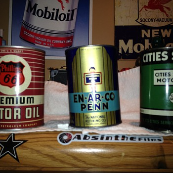 My 3 favorite cans in my collection - Petroliana