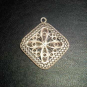 Bulgarian silver pendant. - Fine Jewelry