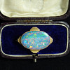 A Large White Cliffs Opal Doublet from the 1930's